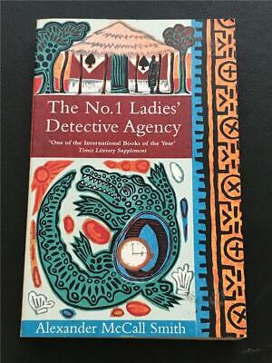 AU5 • Buy THE NO. 1 LADIES' DETECTIVE AGENCY By Alexander McCall Smith ~ Paperback 2003