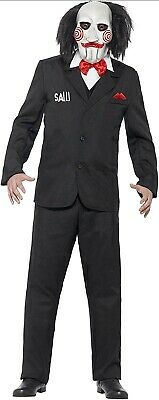 $23.62 • Buy Mens Official Jigsaw Costume Saw Adults Halloween Fancy Dress Outfit - Large