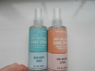 £14 • Buy Bath And Body Works Pocketbacs Sprays Blue Agave Oasis & Sun-washed Citrus