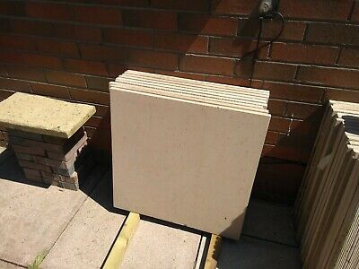 £10 • Buy Smooth  York Stone Paving Slabs/ Flags. Brand New. Total Of 30 For Highest Bid