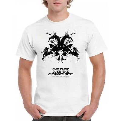 £14.99 • Buy One Flew Over The Cuckoo's Nest Black And White Unisex Tshirt