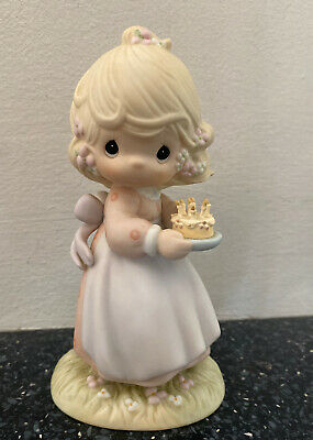 £5.99 • Buy ENESCO..*Precious Moments* 1990 Figurine  May Your Birthday Be A Blessing 524301