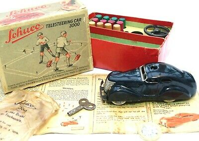 £99.99 • Buy Schuco Telesteering Car With Box And Instructions 1930s Original