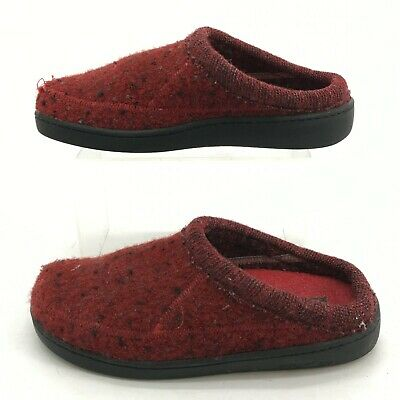£21.69 • Buy Haflinger Mule Slippers Womens 37 Red Pure Wool Slip On Comfort Shoes Casual