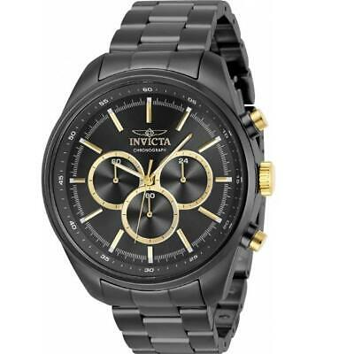 £17.61 • Buy Invicta Specialty 29165 Men's Gunmetal And Gold-Tone 24 Hour Chrongraph Watch