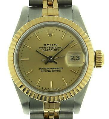 $ CDN2194.32 • Buy Rolex Lady Datejust 69173 Stainless Steel & 18K Yellow Gold Watch