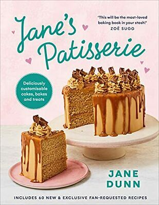 £16.36 • Buy Jane's Patisserie: Deliciously Customisable Cakes  Bakes A By Jane Dunn New Book