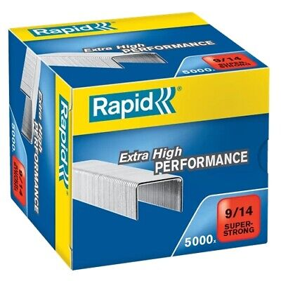 £17.65 • Buy Rapid SuperStrong Staples 9/14 24871500