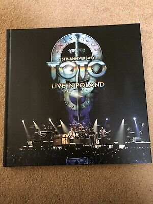 £40 • Buy Toto, Live In Poland 35th Anniversary Tour, 2 CDs, 1 DVD And 1 Blu-ray