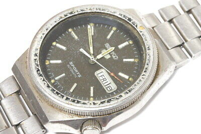 $ CDN89.05 • Buy Seiko 5 Sports 6309-836A Automatic Watch For Repairs Or For Parts      -14170
