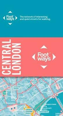 £5.99 • Buy Footways Central London: The Network O By Urban Good London Living Stree New Map