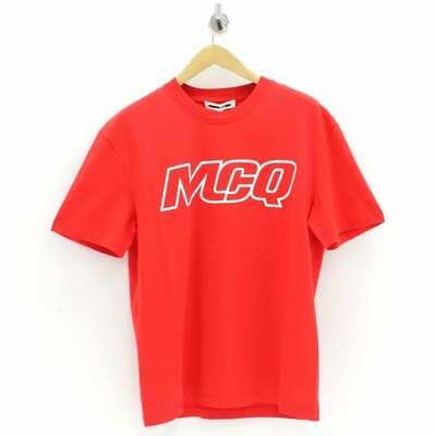 £42.99 • Buy Alexander McQueen McQ Swallow Outline Logo T-Shirt Red - Size M