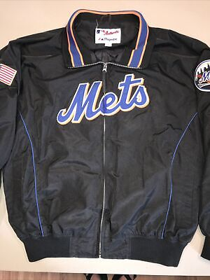 $72 • Buy Majestic Authentic Collection New York Mets Baseball Jacket Men's Size XL