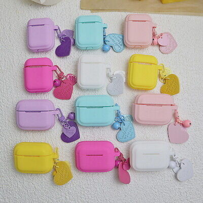 $ CDN5.01 • Buy For Apple Airpods Pro 1st 2nd Heart Earphone Protector Soft Silicone Case Cover
