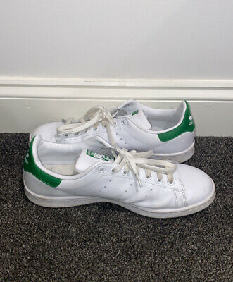 AU1 • Buy Adidas Stan Smith White Green Sneakers Runners (US 10.5)