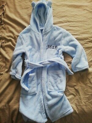 £5 • Buy Bnwot My1styears Personalised Dressing Gown Name Max Age 4-5