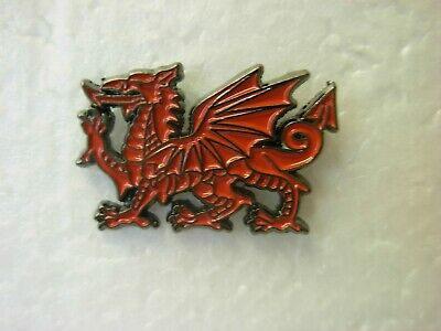 £1.50 • Buy Red Dragon Pin Badge. Lapel. Brand New. Wales Welsh. March 1st. Rugby Football