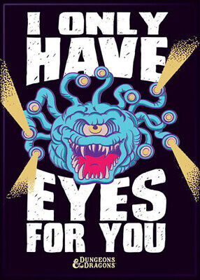 AU32.87 • Buy Dungeons And Dragons Only Have Eyes 3.5 X 2.5 Magnet