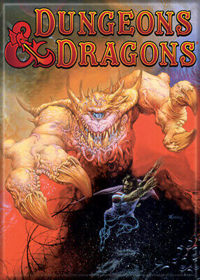 AU32.87 • Buy Dungeons And Dragons Motp Cover Art 3.5 X 2.5 Magnet