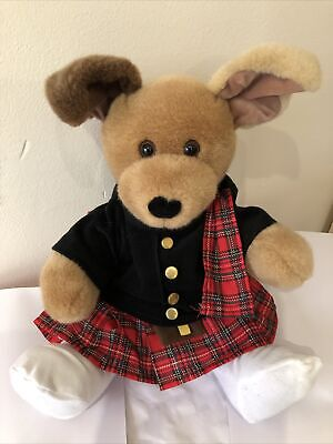£9 • Buy Build A Bear Teddy Bear With Scottish Outfit Used 16in Good Condition