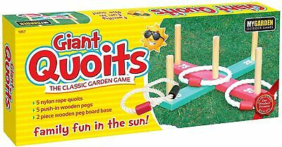 £8.85 • Buy Giant Quoits Classic Family Game Garden Indoor Outdoor Party Fun Playing Games