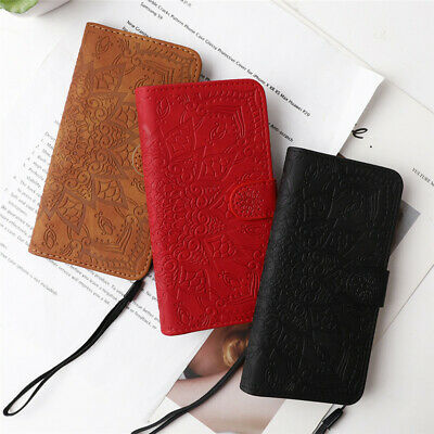 AU11.58 • Buy Leather Case For IPhone 6 6S 7 + 8 Plus 12 11 Pro XS Max X XR Wallet Card Cover