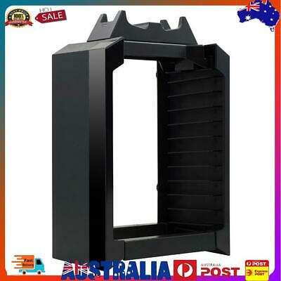 AU37.92 • Buy Vertical Stand Cooling Fan With Game Storage For PS4 Pro Slim Xbox One