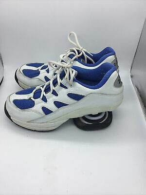 $ CDN75.22 • Buy Z COIL Freedom Womens Sz 8.5 Pain Relief Orthopedic Comfort Shoes Blue White