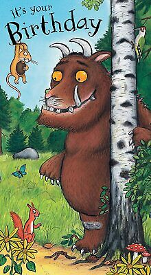 £3.20 • Buy The Gruffalo Its Your Birthday Greeting Birthday Card Boy With Envelope
