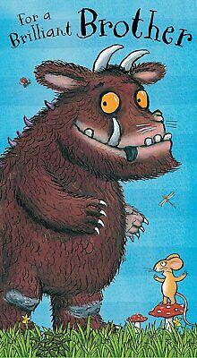 £3.20 • Buy The Gruffalo For A Brilliant Brother Greeting Birthday Card Boy With Envelope