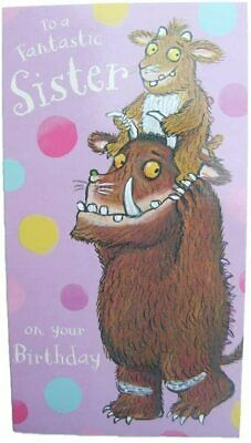 £3.20 • Buy The Gruffalo To A Fantastic Sister Birthday Greeting Card Girls With Envelope