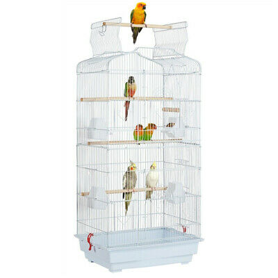 £38.99 • Buy Large Metal Bird Cage Budgie Canary Parakeet Canary Cockatiel Finch Lovebird UK