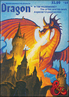 AU32.85 • Buy Dungeons And Dragons Dragon Magazine 69 3.5 X 2.5 Magnet