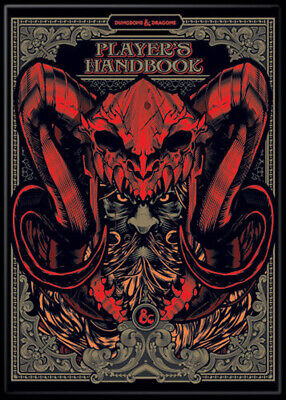 AU33.14 • Buy DnD Special Edition Players Handbook 3.5 X 2.5 Magnet