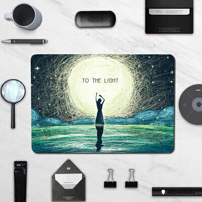 $20.99 • Buy Moonlight Girl Hard Shell For Macbook Pro Air 11 12 13 M1 15 16 Inch Laptop Case