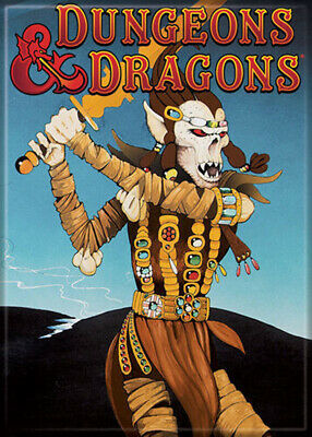 AU32.85 • Buy Dungeons And Dragons Fiend Folio 3.5 X 2.5 Magnet