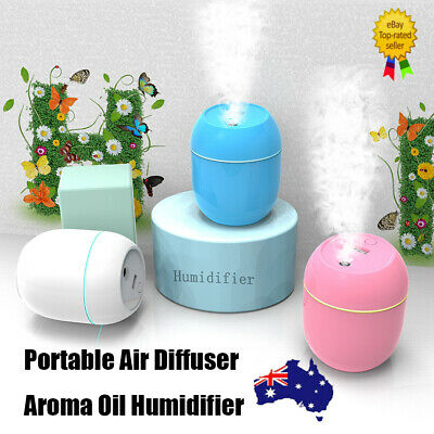 AU13.85 • Buy Portable Air Diffuser Aroma Oil Humidifier USB Night Light Up Home Relax Defuser