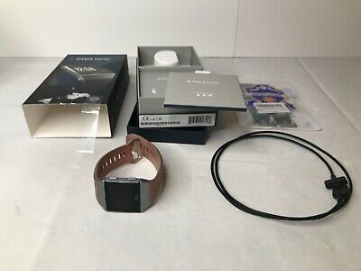 AU47.88 • Buy Fitbit Ionic Gray/Silver With Original Box Charger And 3 Bands Read Description