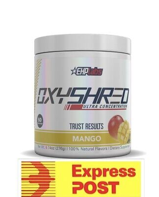AU65.65 • Buy Ehplabs Oxyshred Ehp Labs Oxy Shred All Flavours Weight Loss Fast Free Express