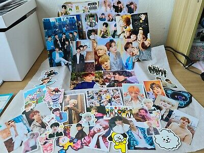£14.99 • Buy KPOP BTS Photo And Sticker Gift Box For Army Journalling Penpal Photocards Lomo