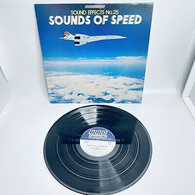 £9.95 • Buy BBC Sound Effects Number 25 Sounds Of Speed 1980 LP Vinyl Record Album