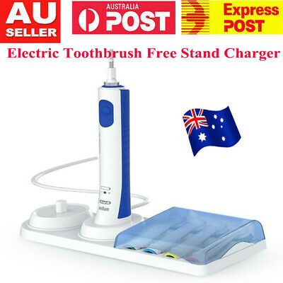 AU11.29 • Buy AUS~ Braun Oral-B Electric Toothbrush Free Stand Charger Replacement Head Holder