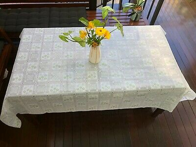 AU28.70 • Buy Cut-to-Sizes PVC Tablecloth Cover Protector Plastic Vinyl Dining Table Cover AU
