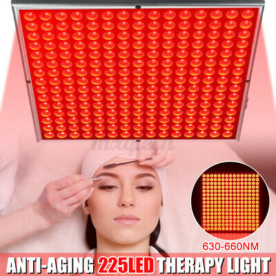 £38.99 • Buy 450W Anti Aging Infrared LED Therapy Light Panel 660nm 630nm Full Body Red Near