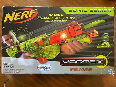 £43.65 • Buy Brand New Nerf Vortex Praxis Sonic Series Clear Green In Box