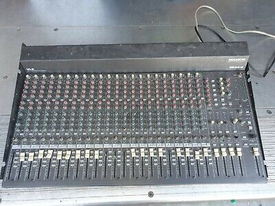 £127.96 • Buy Mackie SR24-4 VLZ 24 Channel 4 Bus Mixing Console Audio Mixer For Parts/Repair