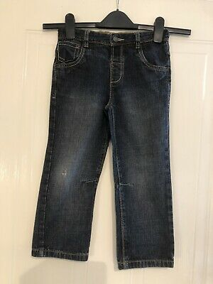 £3 • Buy Next - Boys Black Jeans With An Adjustable Waist - Age 4-5