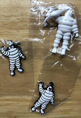£7.50 • Buy Collectable Michelin Man  Rubber Key Ring Sealed Bags X3