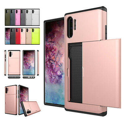 AU14.48 • Buy For Samsung Galaxy Note 20 10 Plus Ultra S20 S10 S9 S8 Case Wallet Card Holder