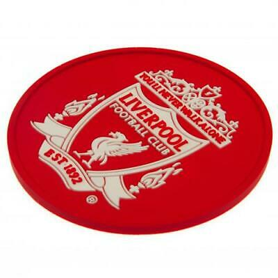£4.95 • Buy Liverpool FC Silicone Coaster 9½cm / 3¾  Drink Beer Glass Official Merchandise